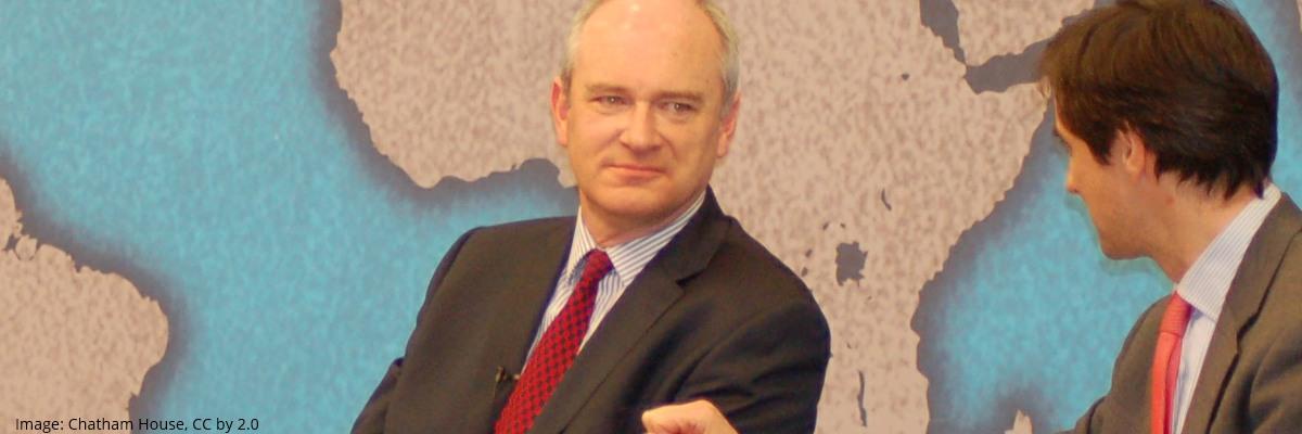Nick Harvey | Image: Chatham House
