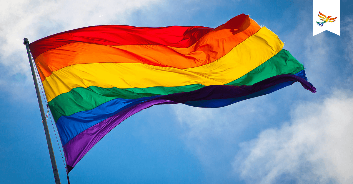 Pride flag. Image: Benson Kua. Links to: Hear From Nadya