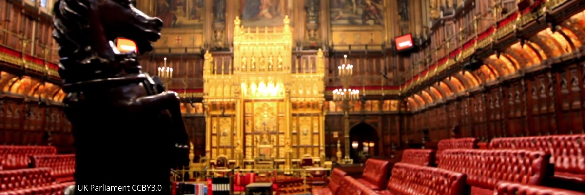 The House of Lords. Image: UK Parliament