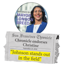 Christine for District 6 Supervisor