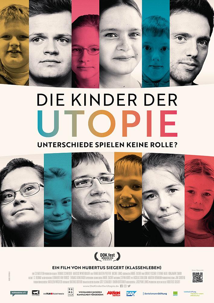 Filmplakat DIE KINDER DER UTOPIE