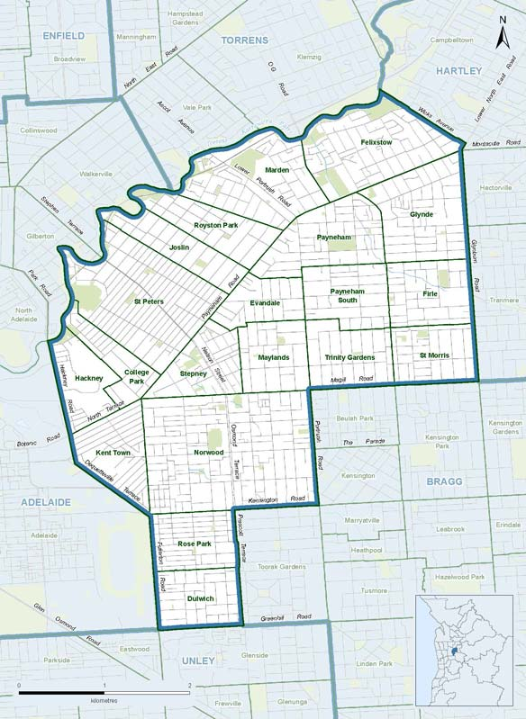 dunstan-electorate-map