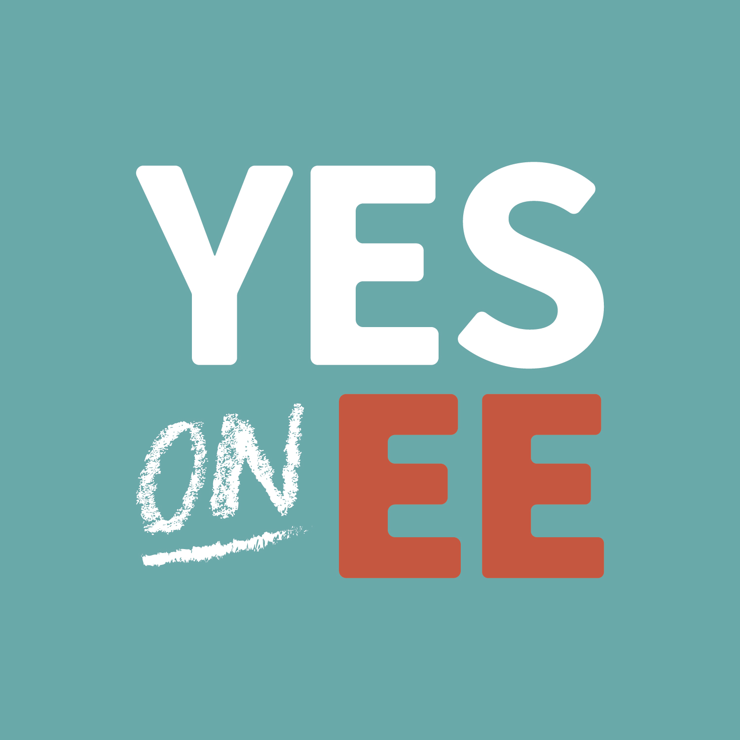Yes on EE Logo