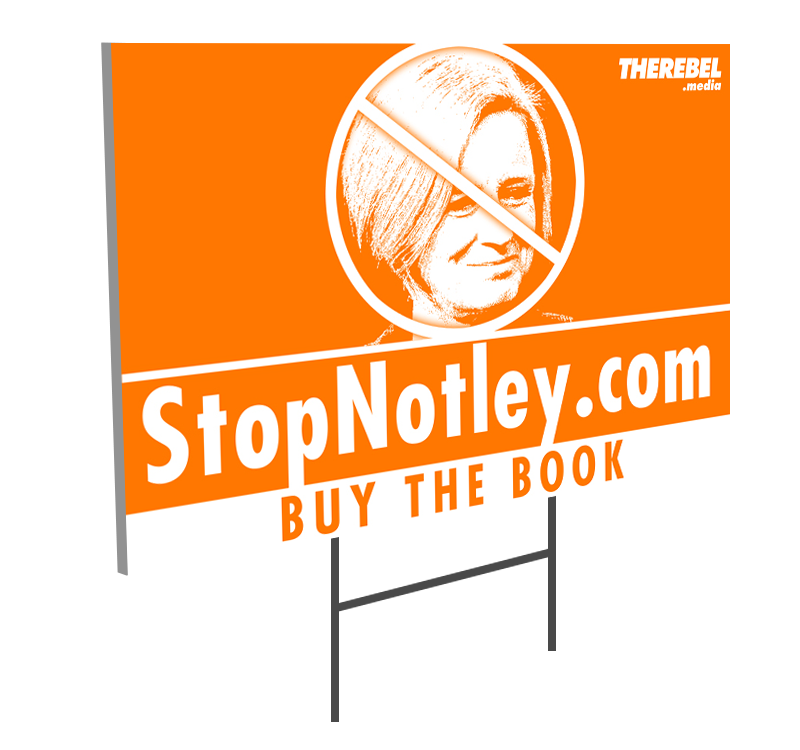 Stop Notley Lawn Sign