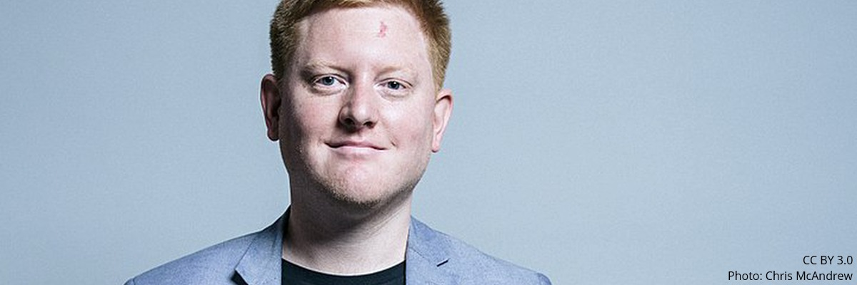 Jared O'Mara | Image: CC BY 3.0 Photo: Chris McAndrew