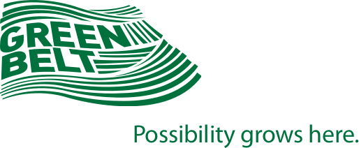 Greenbelt Logo in Green