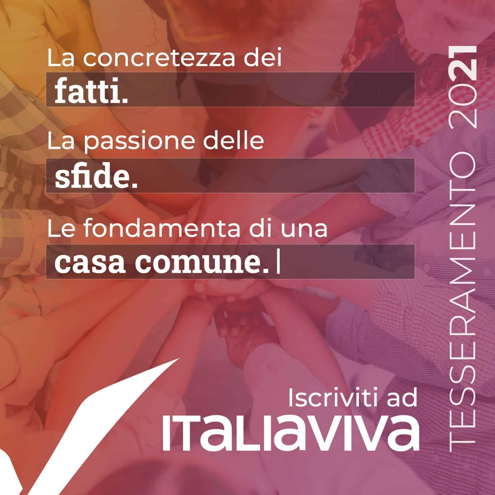 tesseramento italiaviva 2021