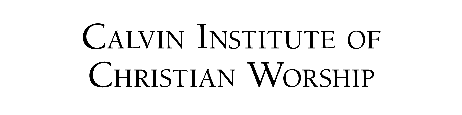 Logo | Calvin Institute of Christian Worship