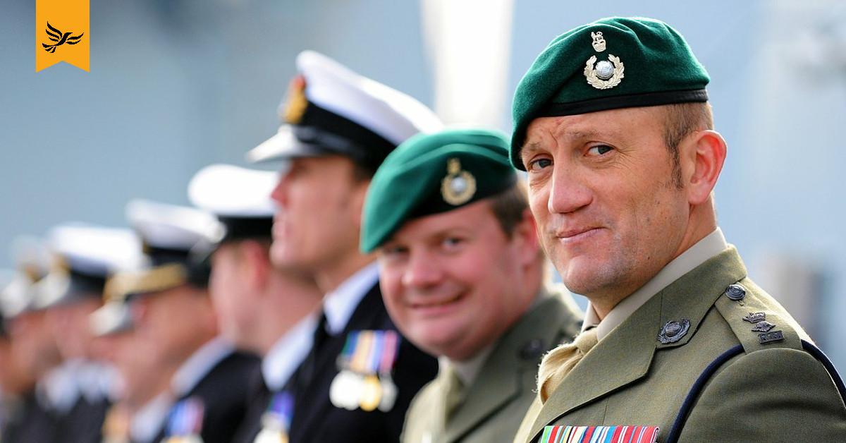 Royal Marines.