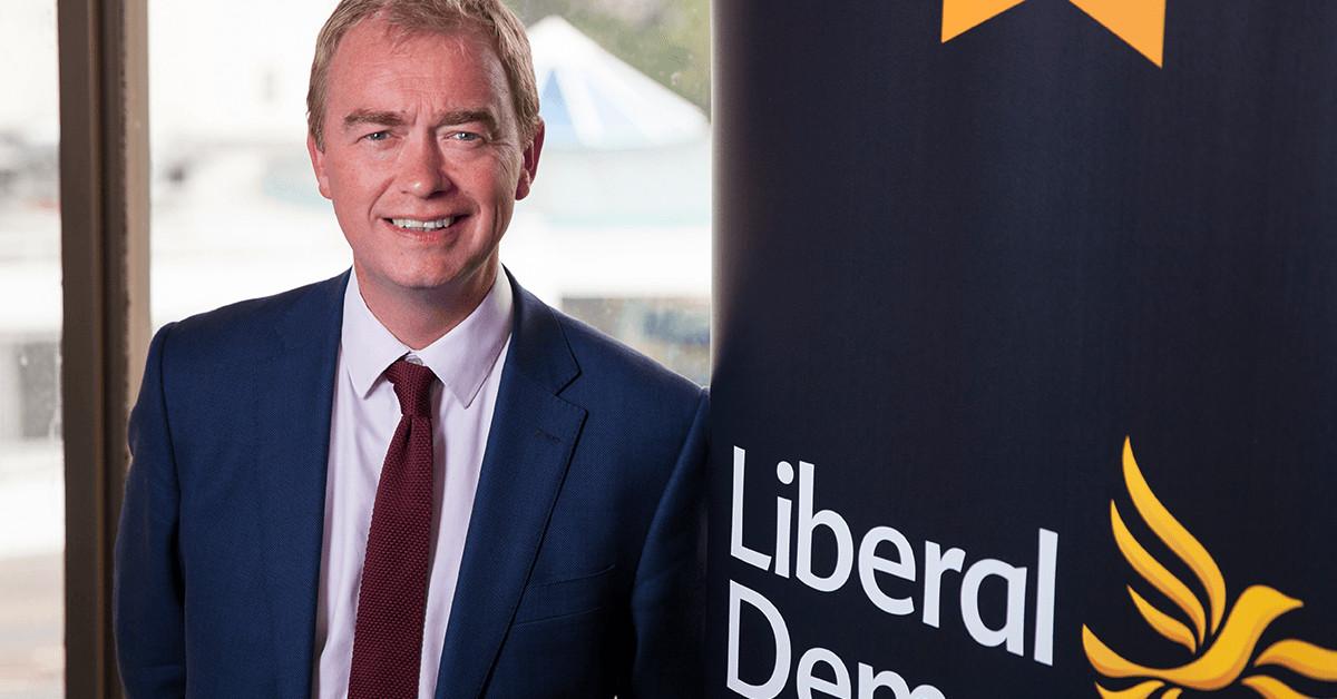 Tim Farron MP.