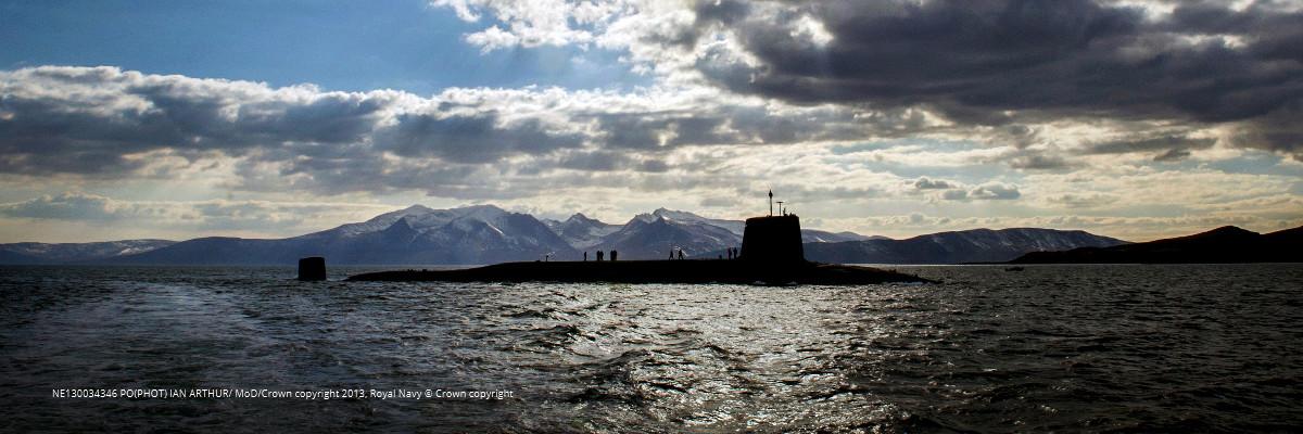 A Vanguard class Nuclear Missile Submarine