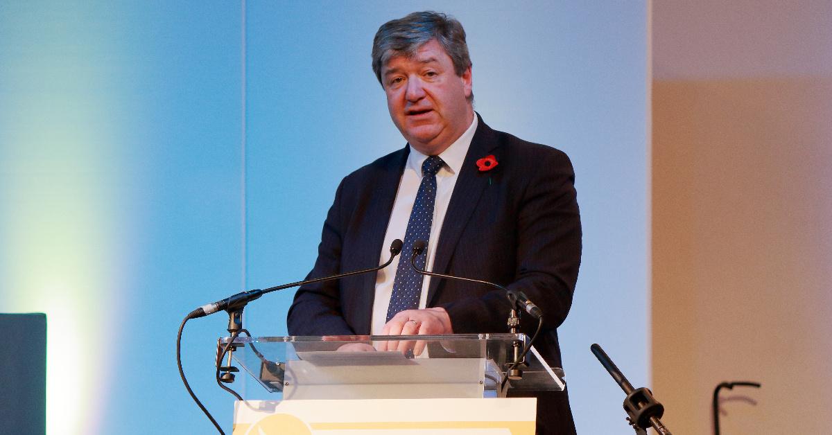Alistair Carmichael MP speaking at Scottish Liberal Democrat conference, November 2017