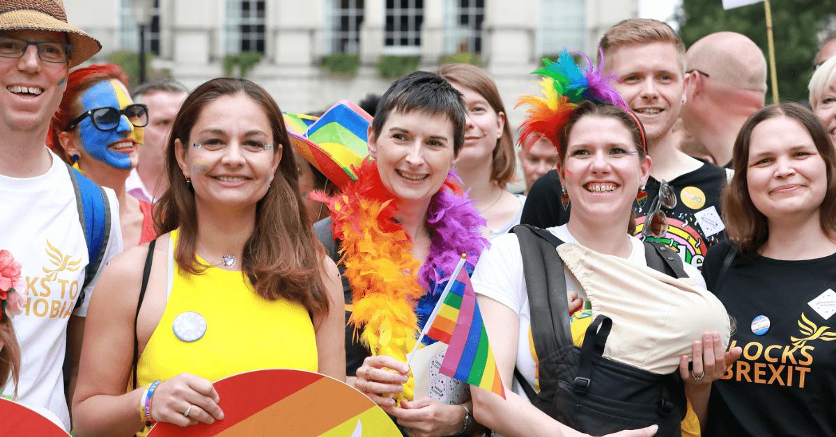 Liberal Democrats at London Pride