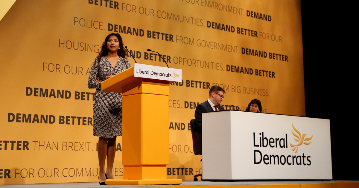 Isabelle Parasram, Vice-President of the Liberal Democrats Links to: Alderdice and beyond - the future of the Vice Presidency