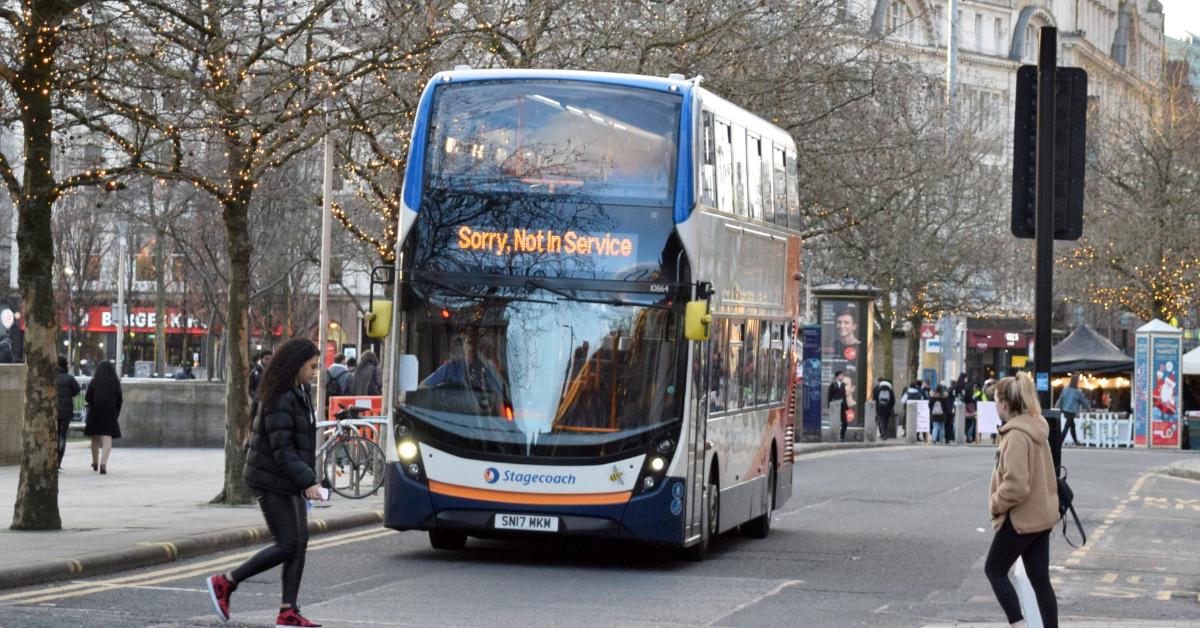 Stagecoach bus