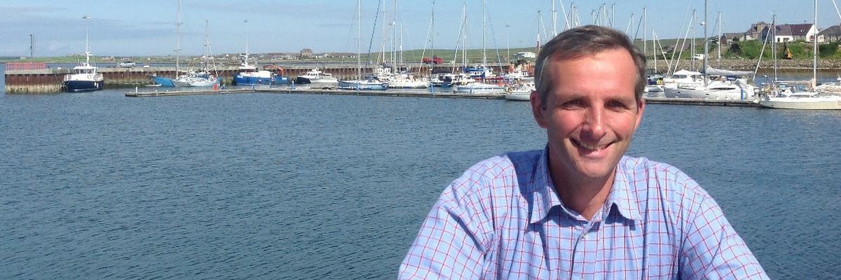 Liam McArthur, MSP for Orkney