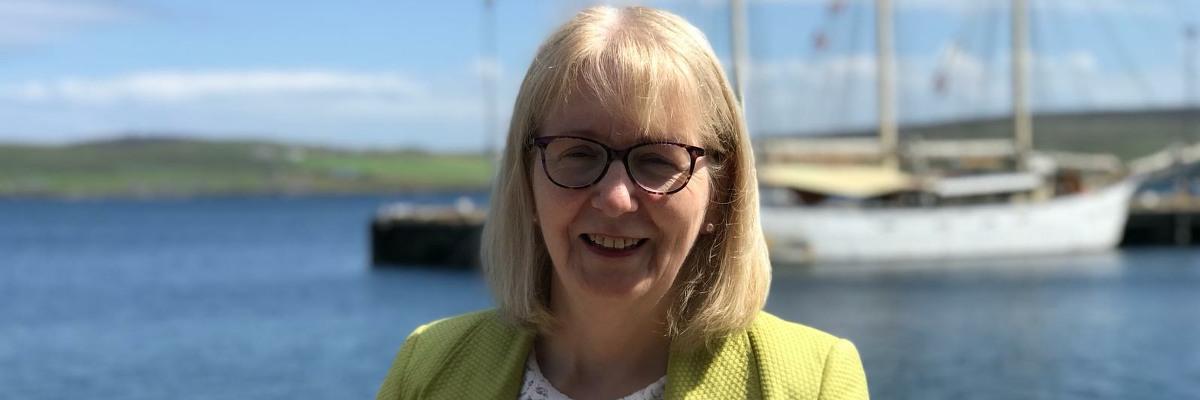 Beatrice Wishart, MSP for Shetland