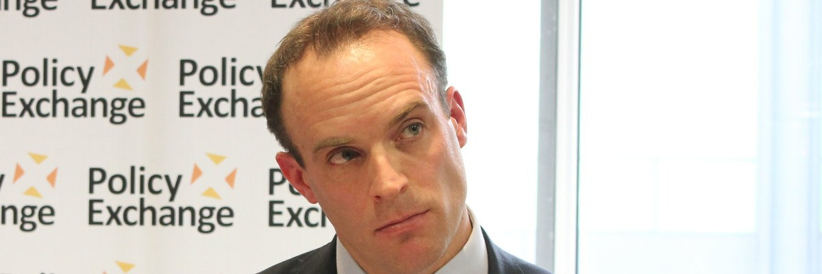 Dominc Raab, MRA and Foreign Secretary.