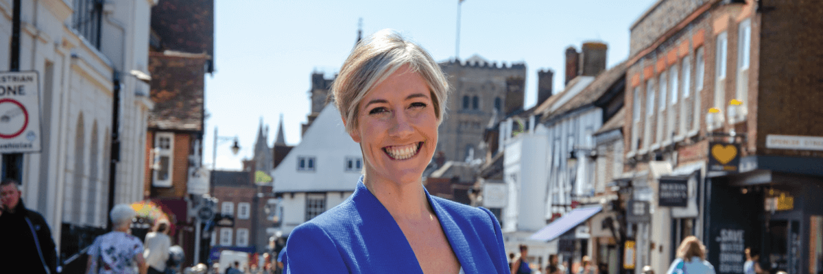 Daisy Cooper, MP for St Albans