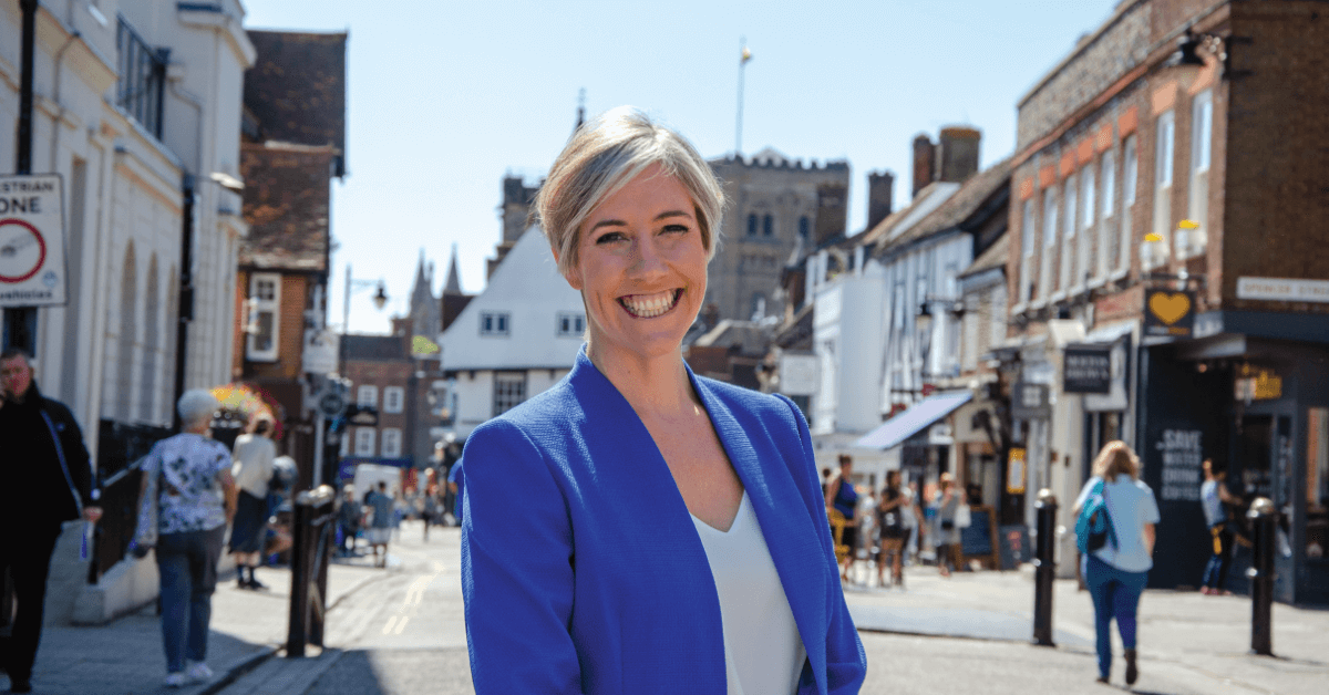 Daisy Cooper, MP for St Albans Links to: International Women's Day