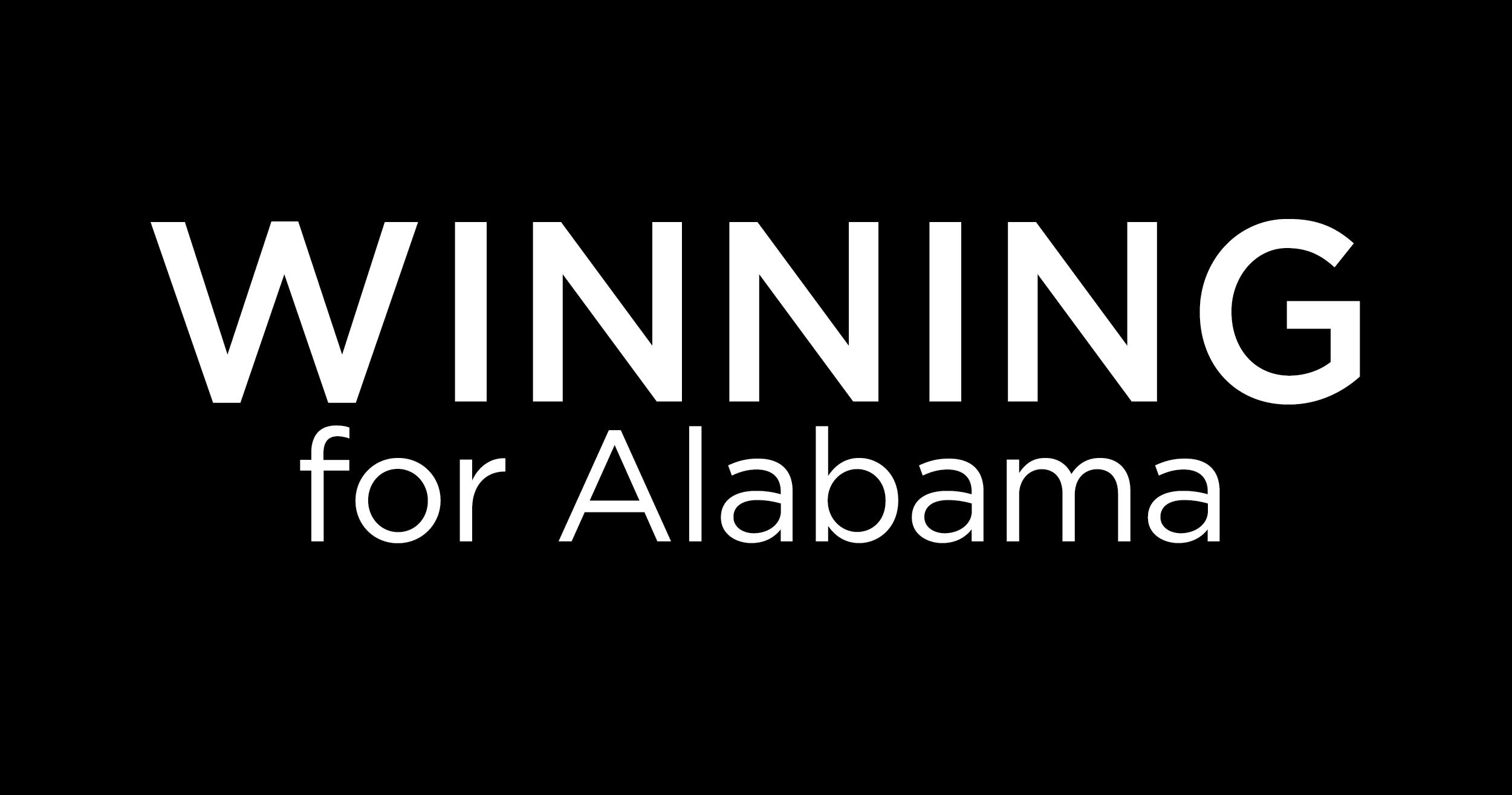 Winning for Alabama