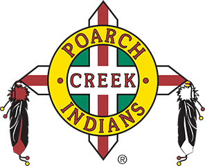 Logo for The Poarch Band of Creek Indians