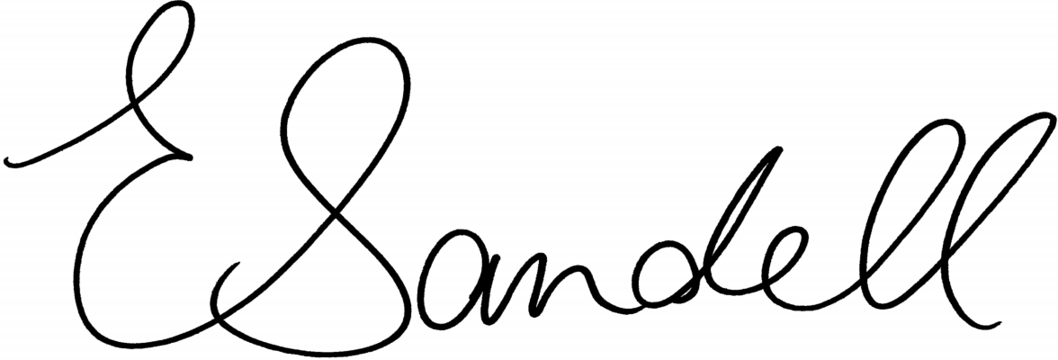Signed Ellen Sandell