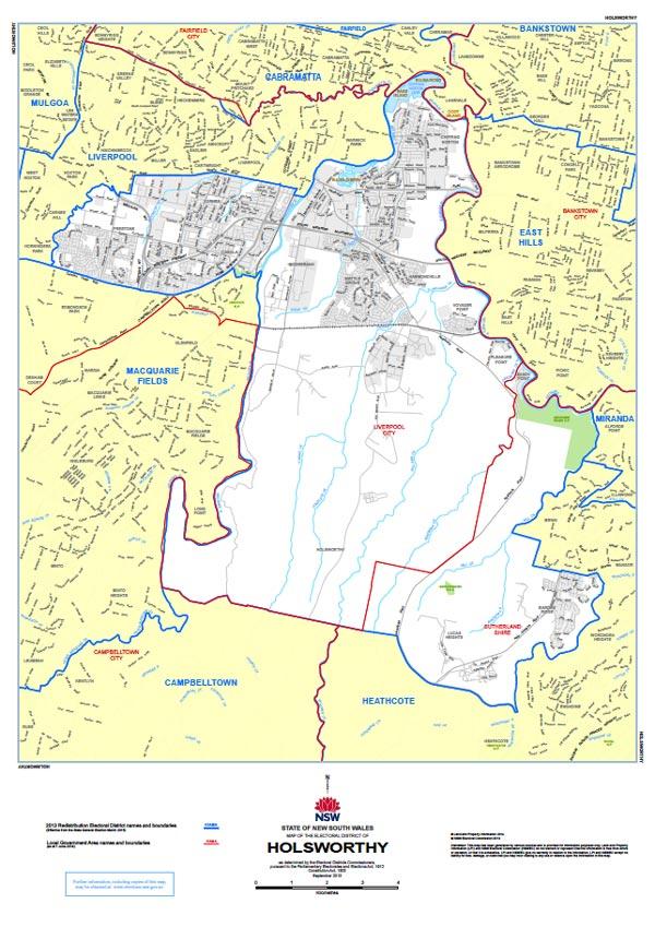 Holsworthy Map