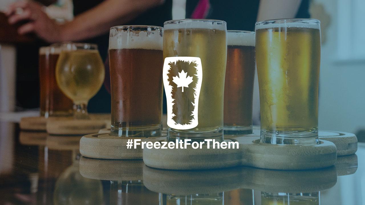 Tweet #FreezeItForThem