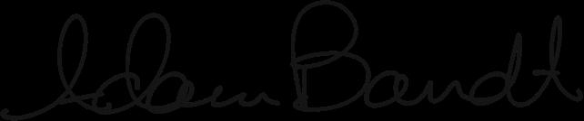 Signed Adam Bandt MP – Federal Member for Melbourne