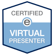 Certified eSpeaker Virtual Presenter