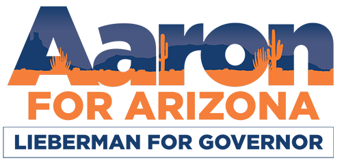 Aaron for Arizona logo