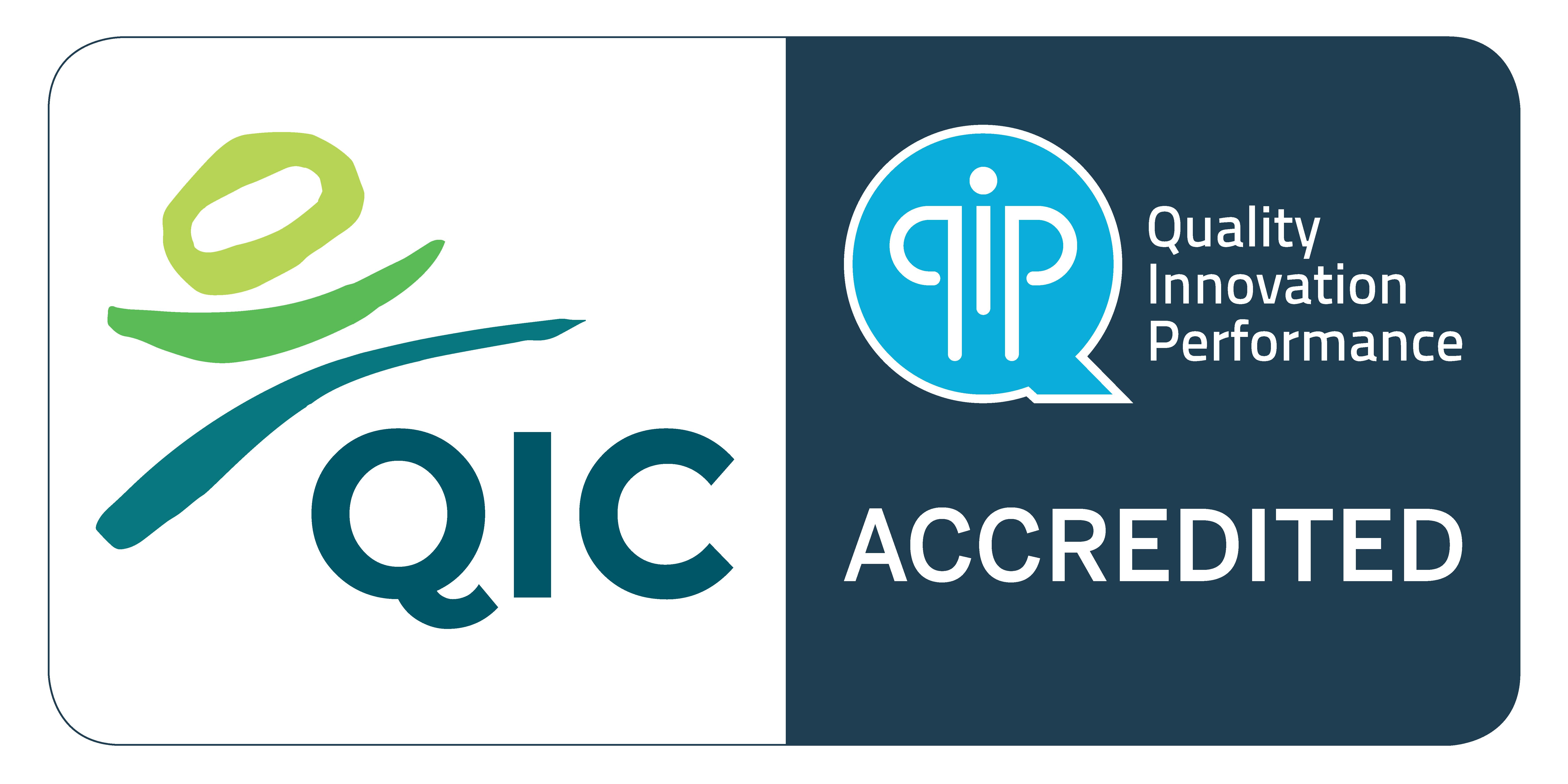 QIC Accredited Logo