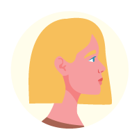 Illustration of a NZ European women