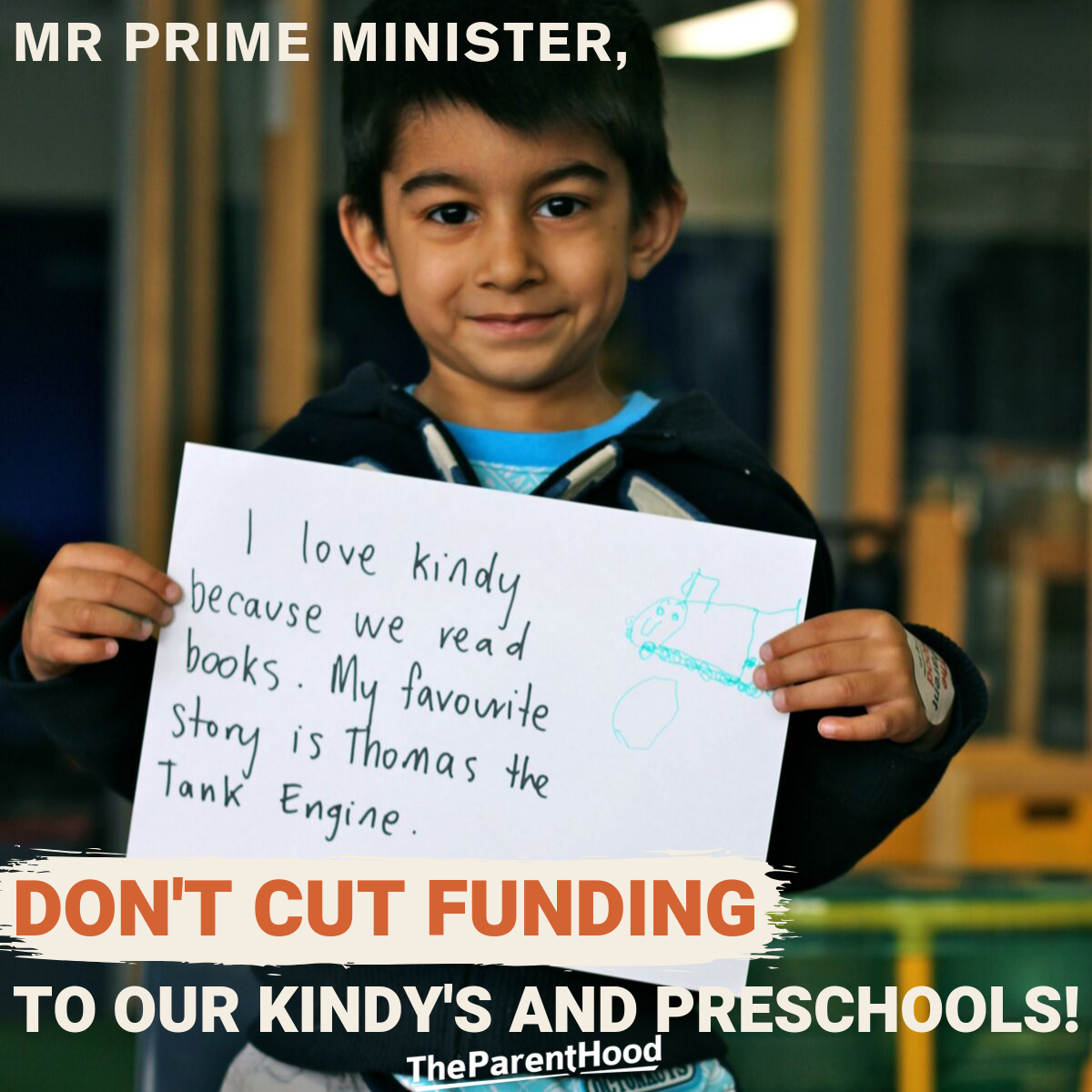 Mr Prime Minister, don't cut funding to preschool!