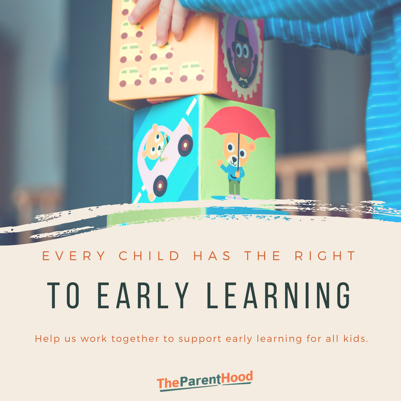 Every child has the right to early learning