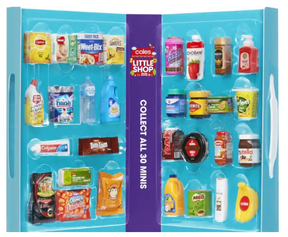 Coles 'Little Shop' promotion