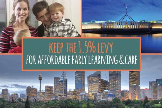 Prime Minister & Minister Morrison – Keep the 1.5% levy