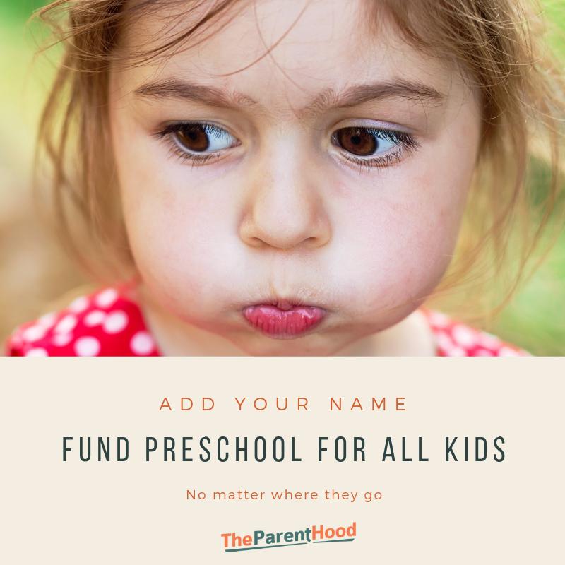 Fund preschool for all NSW children, no matter where they go.
