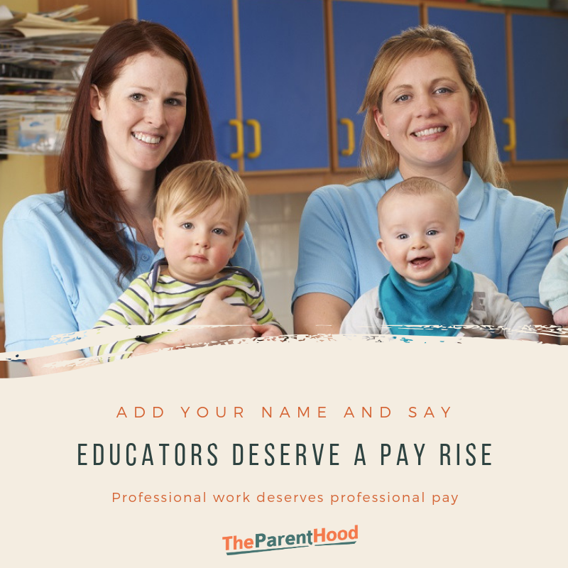 Educators deserve a pay rise