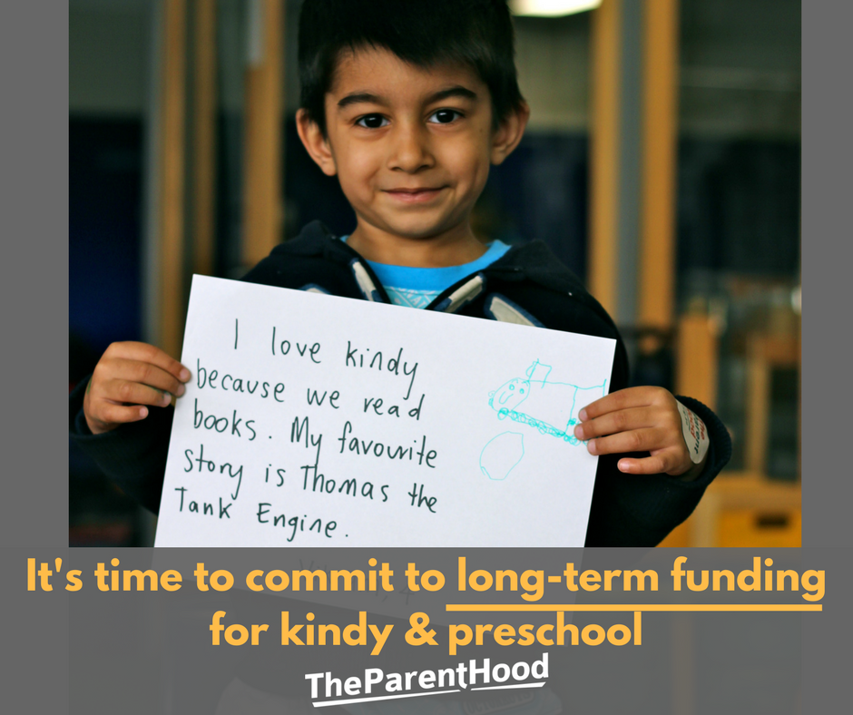 Universal Access to Kindy & Preschool is under threat again. Let's secure funding for the long term!