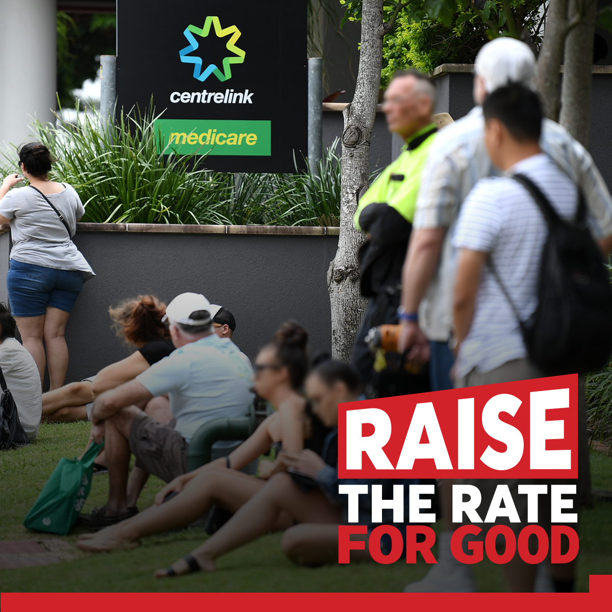 The Parenthood supports the Raise the Rate for Good campaign