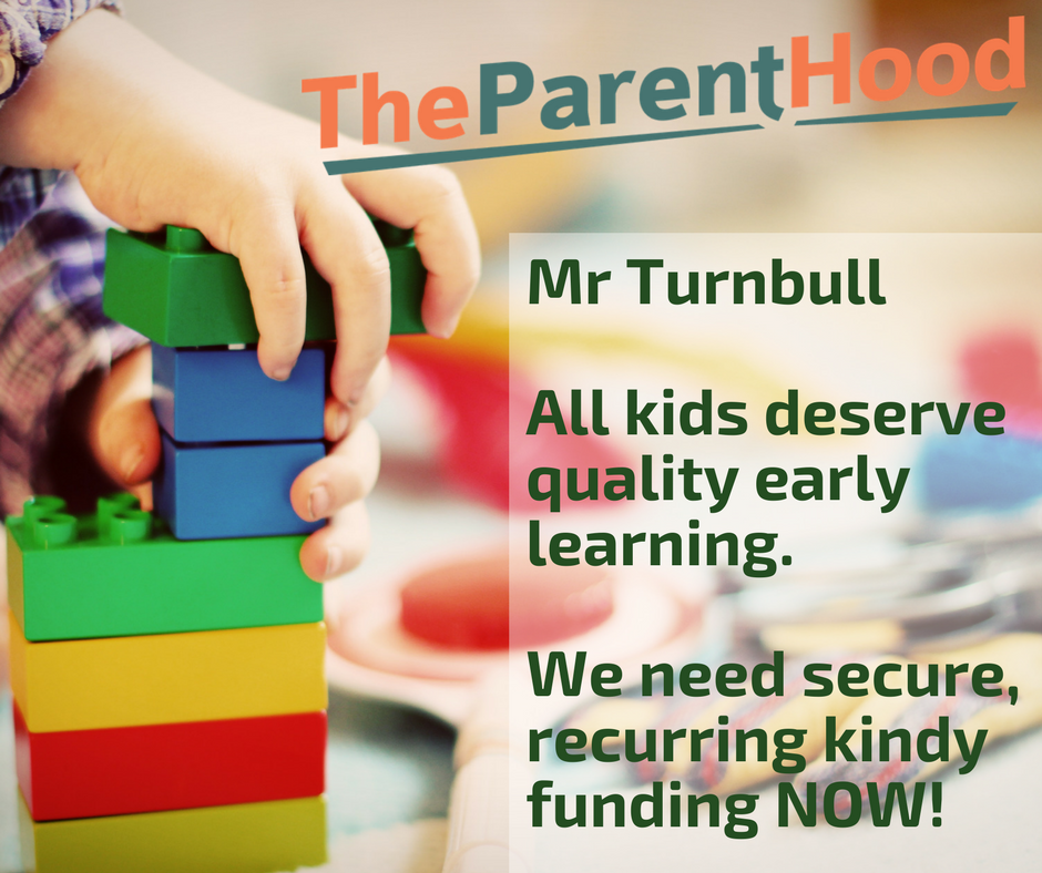 Sadly, Universal Access to Kindy & Preschool is under threat - YET AGAIN. Let's secure funding for the long term!