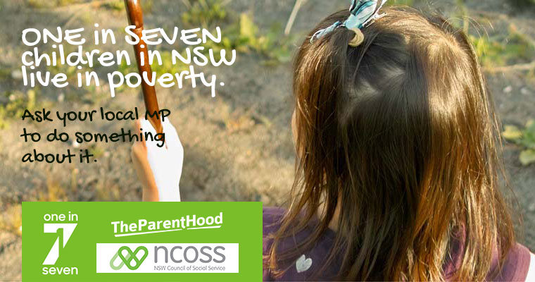 Support the 1 in 7 children in NSW experiencing poverty