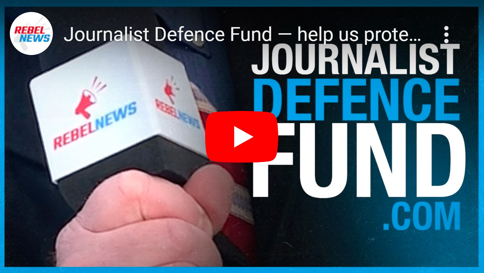 WATCH: Journalist Defence Fund — help us protect our on-the-ground reporters from violence!