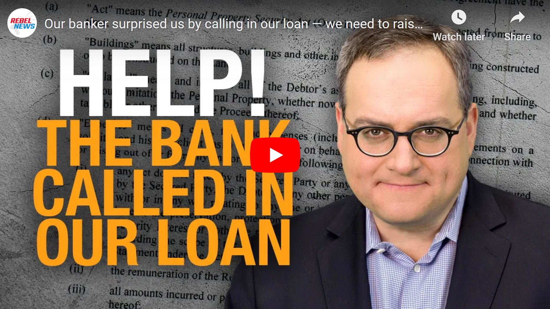 Help Rebel News Repay the Loan
