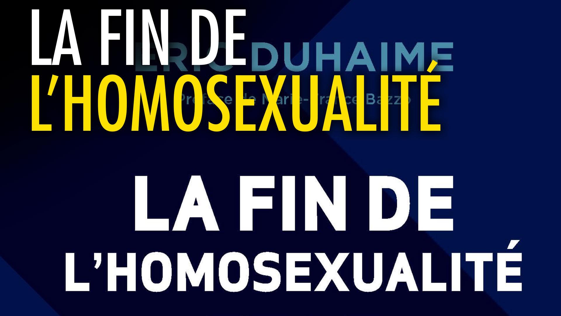 La Fin de l'homosexualité
