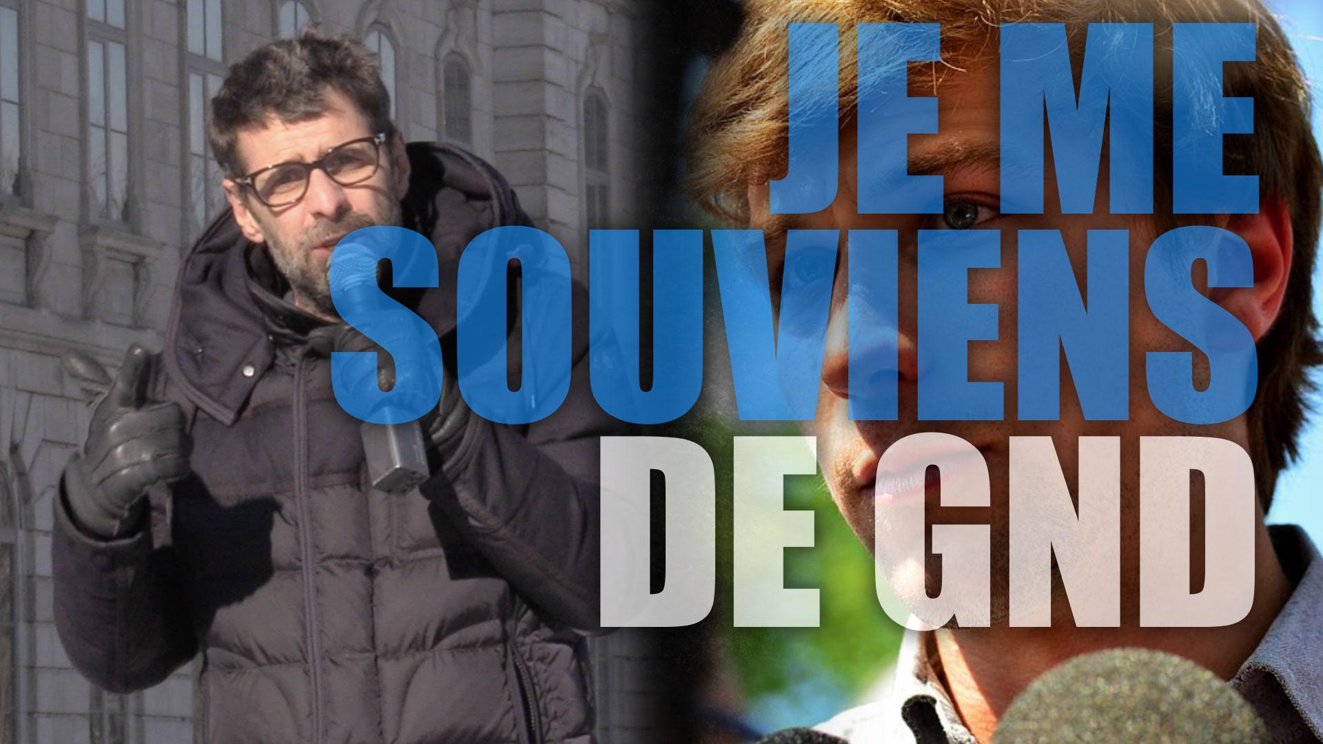 Gabriel Nadeau-Dubois, ancien leader des carrés rouges, se présentera aux prochaines élections québécoises