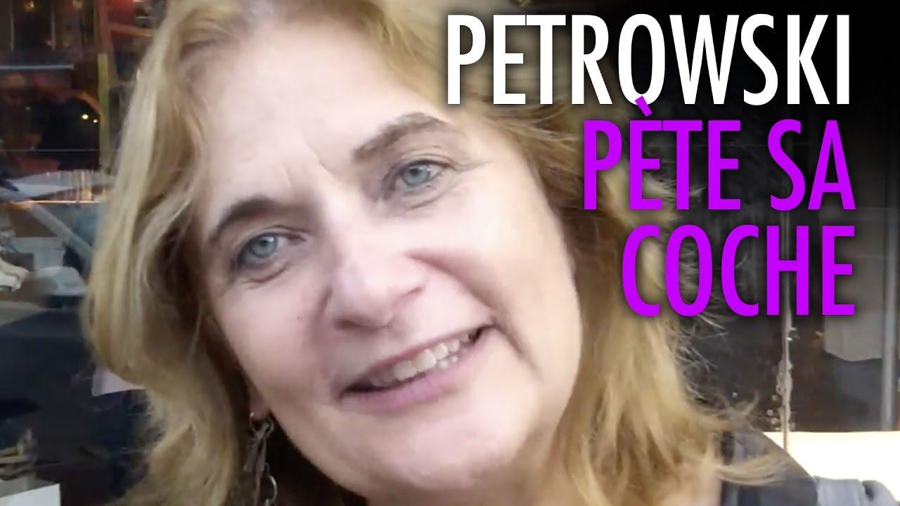 Petrowski pète sa coche