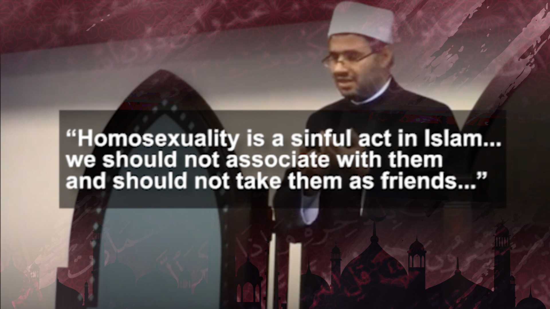 Islam against homosexuality